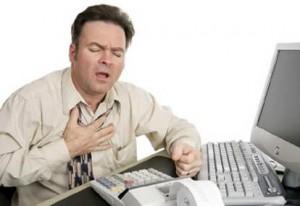 L'athérosclérose- douleur à la poitrine